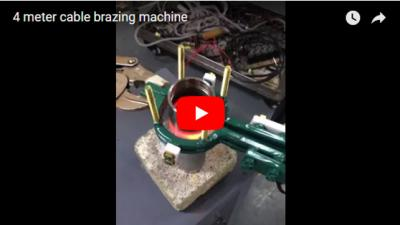 4 Meter cable brazing machine